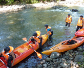 Rafting, Caiace